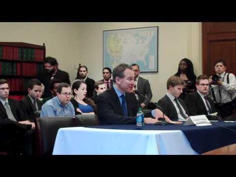 FULL TESTIMONY: Attorney General Eric Schneiderman before Congressional Progressive Caucus