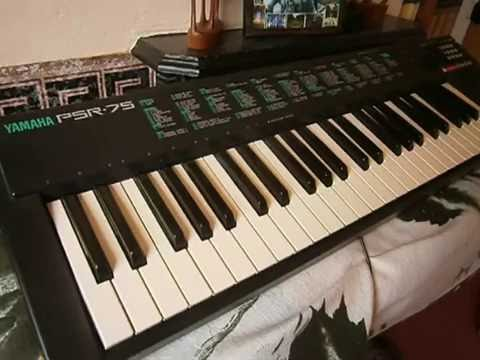 90s yamaha psr 75 electronic keyboard demo youtube rh youtube com Example User Guide Clip Art User Guide