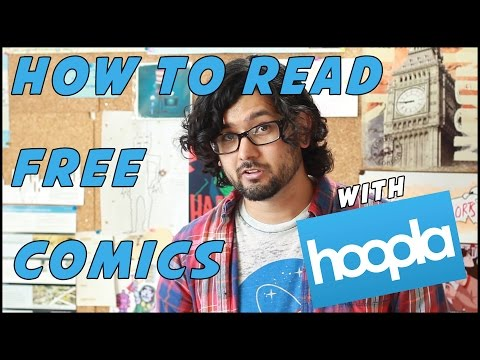 How To Read Comics For FREE (with Hoopla)