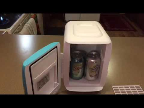 Cooluli Mini Fridge Electric Cooler And Warmer 4 Liter