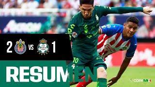 embeded bvideo Resumen | Guadalajara 2 - 1 Santos Laguna | Copa MX - Apertura 2019  - Jornada 2