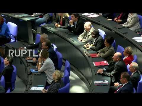 LIVE: Merkel addresses German parliament in Berlin