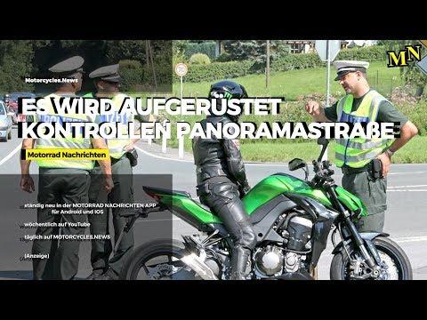 Verschärfte Kontrollen auf der Panoramastraße / Motorraddiebstahl misslungen / Motorrad Nachrichten
