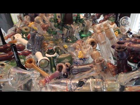 HUGE GLASS COLLECTION!! (116 BONGS & PIPES)