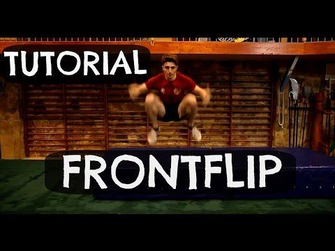 Front flip | Tutorial en español | NachSg