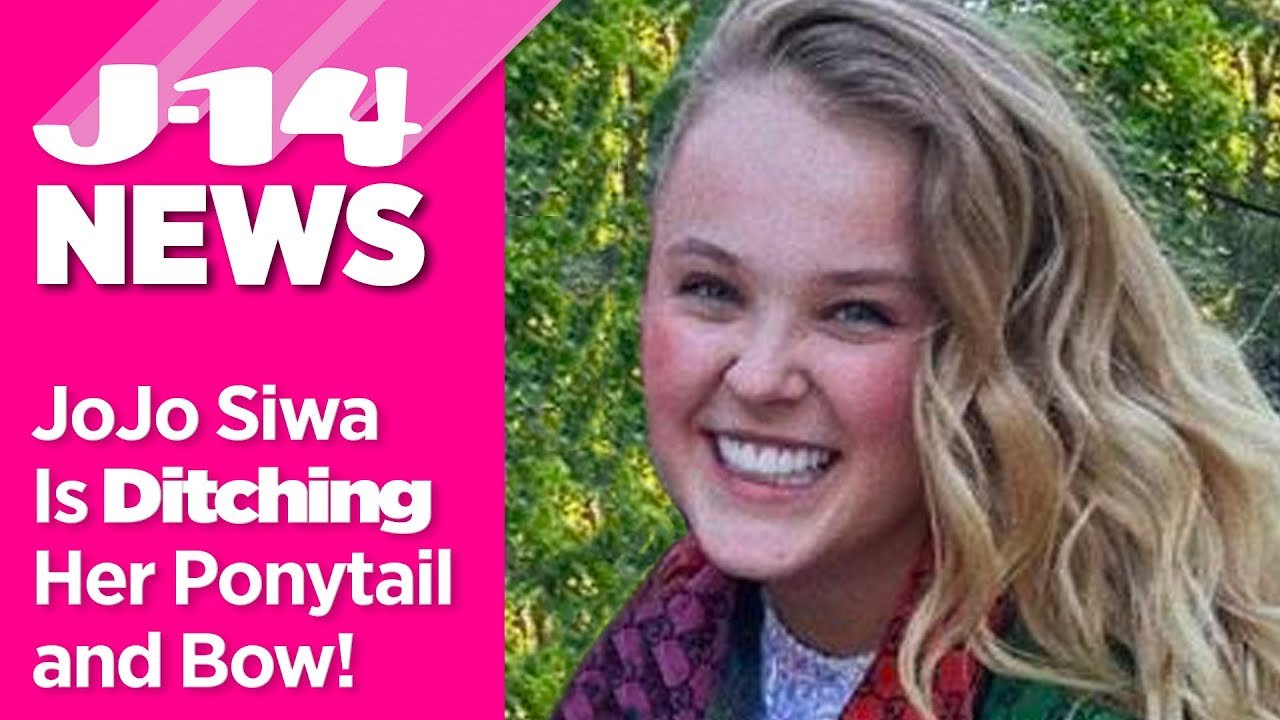 JoJo Siwa Is Ditching Her Signature Bow and Ponytail For 'Mature Upgrade'