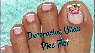 Chic Feet Nail Decoration