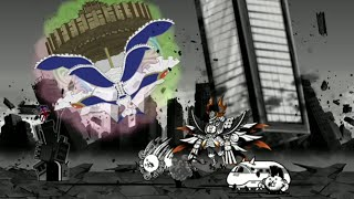 [The Battle Cats!] New Madoka Crossover! Walpurgisnacht - The Stagebuilding Witch THROWS BUILDINGS!!