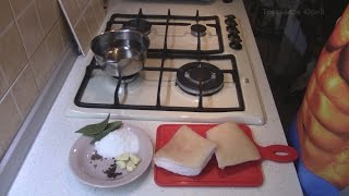 Сало в рассоле, в банке, очень! очень! вкусный рецепт. Домашняя кухня.(Очень вкусный и простой рецепт Сала! Попробуйте оно того стоит! Сало солится в рассоле, в банке. Канал Серге..., 2014-10-17T20:32:07.000Z)