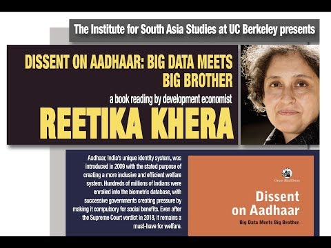 reetika-khera-|-dissent-on-aadhaar:-big-data-meets-big-brother