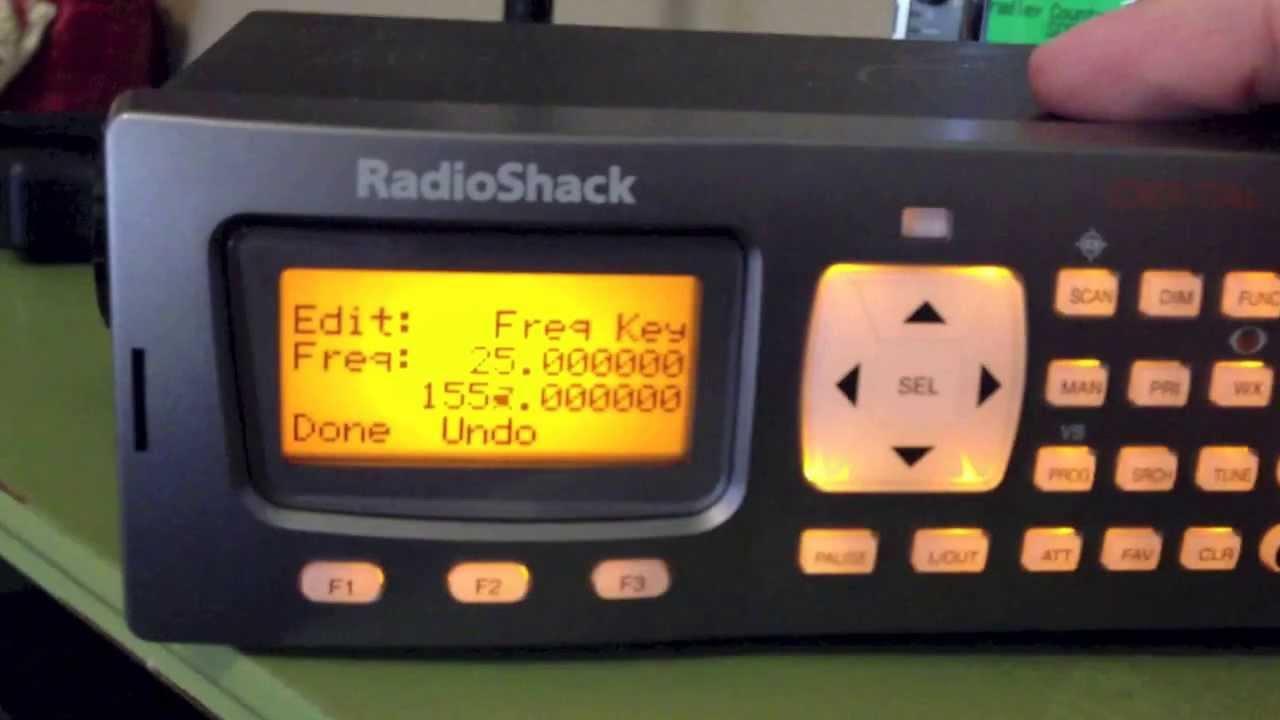 Radio Shack Pro 197 How To