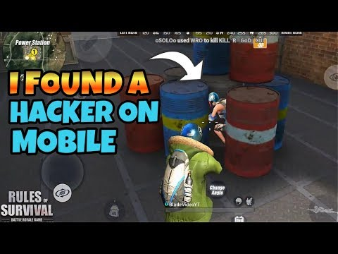 Hacker on Mobile! Rules of Survival