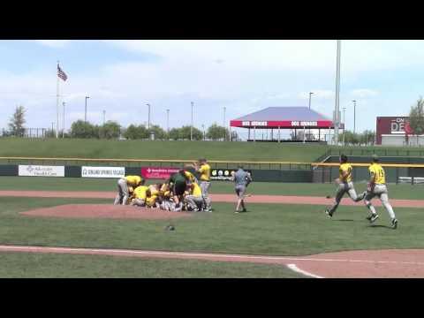 2014 WAC Baseball Tournament Championship Celebration