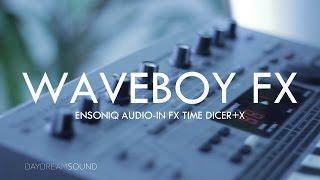 Waveboy Ensoniq EPS 16+ External Audio Time Dicer FX