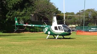 Robinson R44 Helicopters Landing/Take Off Ems Day