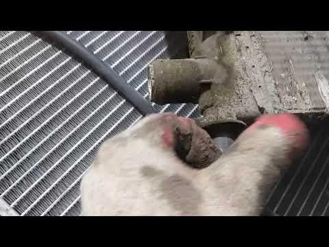 Мерседес А класс радиатор охлаждения