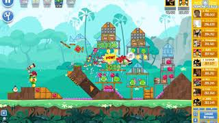 Angry Birds Friends tournament, week 302/3, level 6