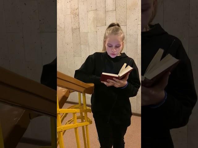 Буслаевская Алина читает произведение «Леса в жемчужном инее…» (Бунин Иван Алексеевич)