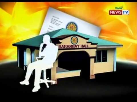SONA: Mga tungkulin ng brgy  chairman at 7 brgy  kagawad
