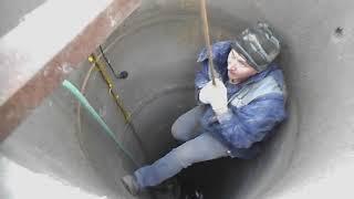 вода в дом водопровод из колодца укладываем трубы 1-я часть