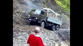 The most dangerous Roads in Tusheti (Georgia)