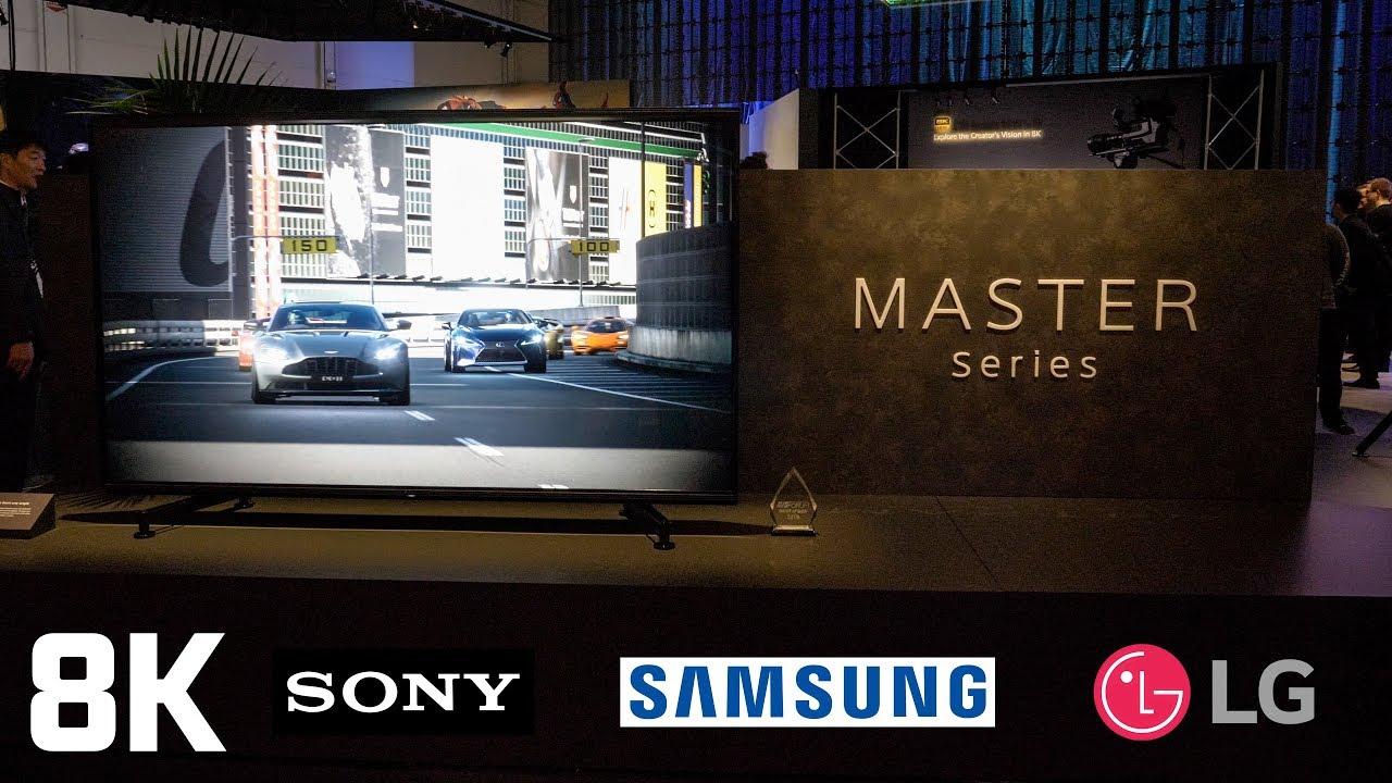 Best 8K TV - Sony vs Samsung vs LG - CES 2019
