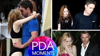 Richard Madden and Ellie Bamber Cute and Romantic PDA Moments 2019