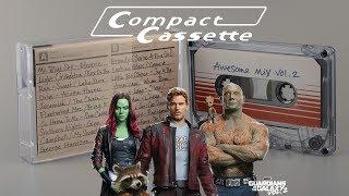 "Аудиокассета из фильма ""Стражи Галактики"" Awesome Mix Vol 2 Compact Cassette Review"