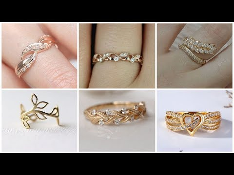 24k Gold Rings Designs Collection For Girls
