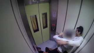 ELEVATOR PRANK GONE WRONG!!!! (SINGAPORE)
