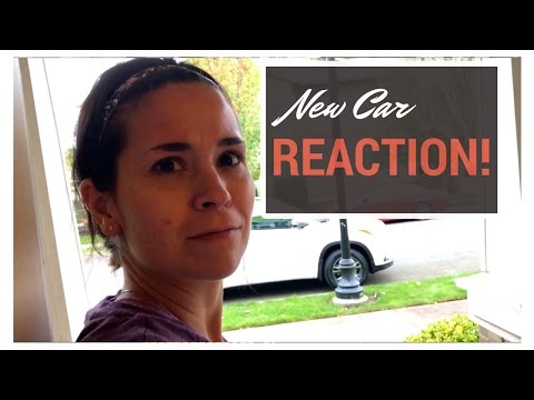 NEW CAR SURPRISE REACTION!!