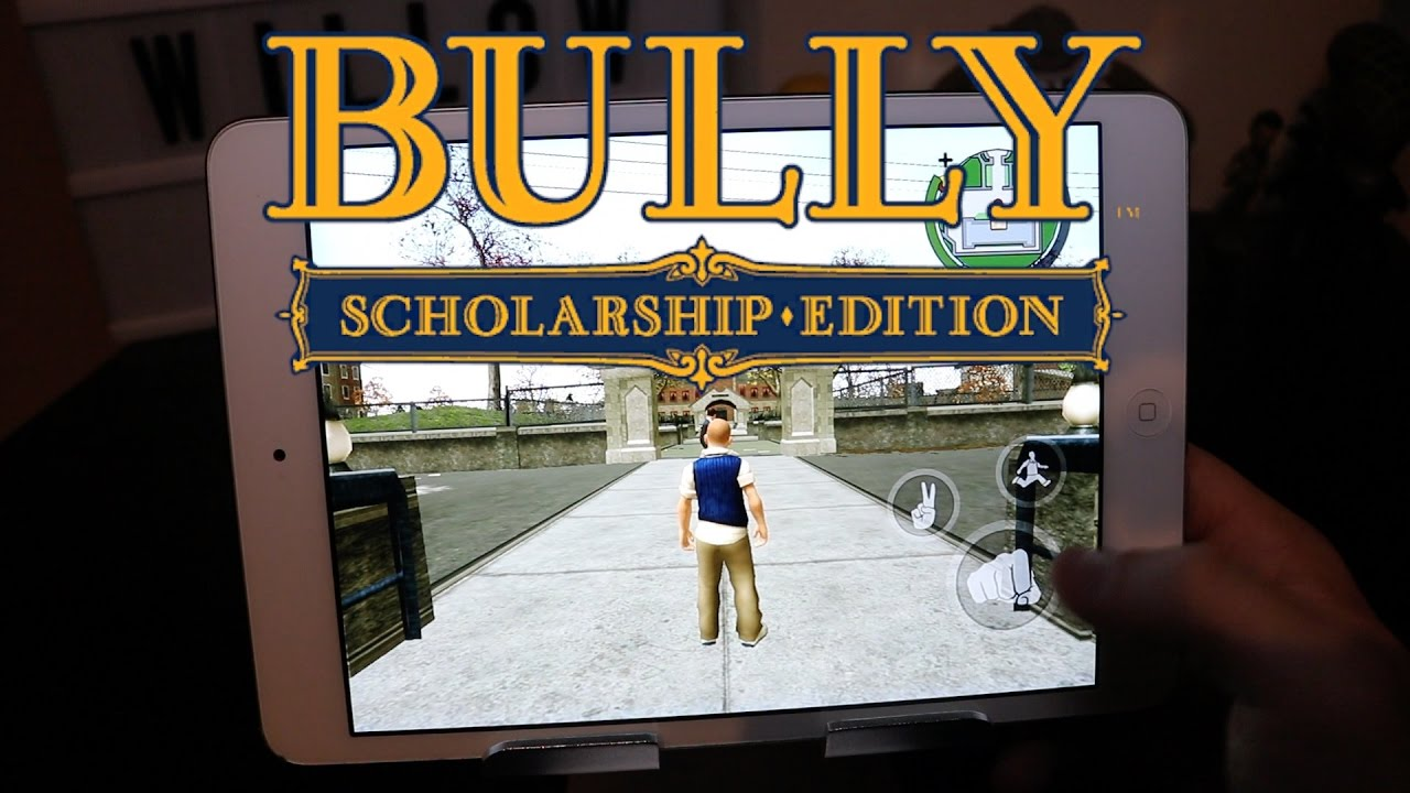 BULLY Anniversary Edition on IOS Out Now!
