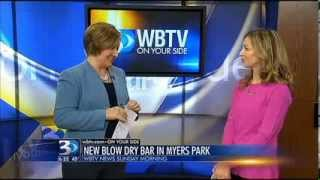 New blow dry bar opens in Charlotte   From WBTV November 10, 2013 Thumbnail