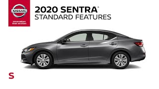 homepage tile video photo for 2020 Nissan Sentra S Walkaround & Review