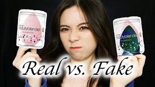 Beauty Blender Dupe Test! Real vs. Fake \\ JQLeeJQ