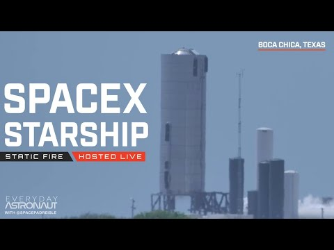 [May 18] [NOTHING HAPPENED DON'T WATCH] Let's Watch SpaceX Static Fire Starship SN-4!