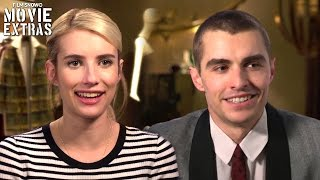 nerve on set with dave franco ian emma roberts vee interview