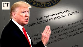 House releases Donald Trump impeachment report | FT