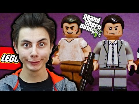 KIZ KURTARMA OPERASYONU! (LEGO GTA 5)