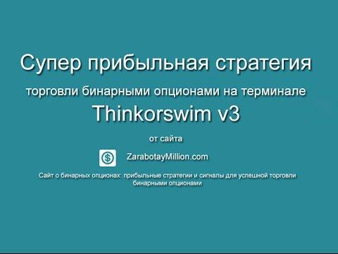 Супер прибыльная стратегия торговли бинарными опционами на терминале Thinkorswim V3