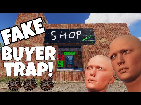 RUST | FAKE CUSTOMER SHOP TRAP!