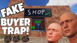 RUST | LURING PLAYERS into a SCAM SHOP for EASY LOOT!