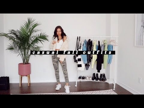 [VIDEO] – CASUAL FALL OUTFIT IDEAS🍂 | 2019