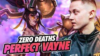 Rekkles | ADC Vayne & Kaisa - ZERO DEATHS! PERFECT VAYNE!