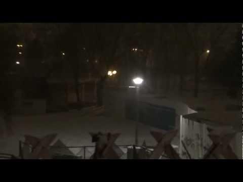 Neige sur Evry 18 01 2013 20h30