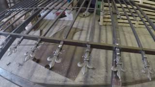Сварной забор с коваными элементами. Пример гармоничной конструкции.(, 2017-07-03T19:02:30.000Z)