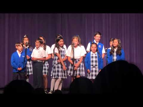 "St Charles Catholic School Choir ""Fish With Me"""