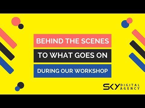 Behind the scenes: Digital Marketing Workshops and Courses in Singapore -(Sky Digital Agency)
