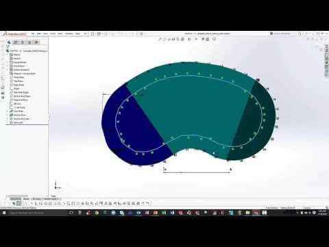 Pool Pattern Pro Pool Design Add-in software for SOLIDWORKS