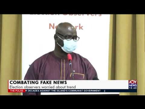 Combating Fake News: Election observers worried about trend - The Pulse on JoyNews (12-7-21)